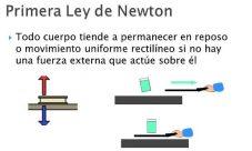 Leyes de Newton aceleración y desaceleración