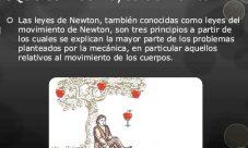 ¿Cuál es el objetivo general de las leyes de Newton?